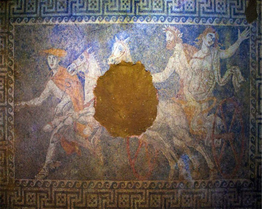 Amphipolis-tomb-mosaic