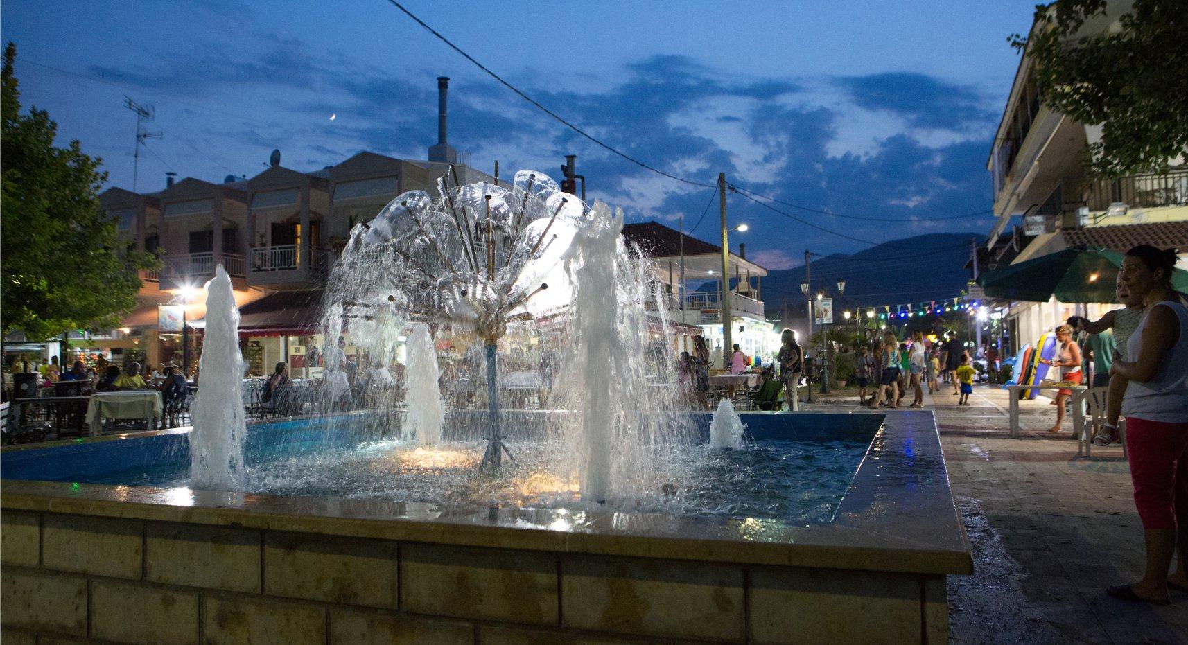 square-fountain